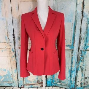 Ann Taylor coral blazer